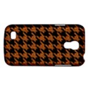 HOUNDSTOOTH1 BLACK MARBLE & RUSTED METAL Galaxy S4 Mini View1