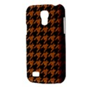 HOUNDSTOOTH1 BLACK MARBLE & RUSTED METAL Galaxy S4 Mini View3