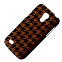 HOUNDSTOOTH1 BLACK MARBLE & RUSTED METAL Galaxy S4 Mini View4