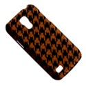 HOUNDSTOOTH1 BLACK MARBLE & RUSTED METAL Galaxy S4 Mini View5