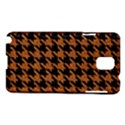 HOUNDSTOOTH1 BLACK MARBLE & RUSTED METAL Samsung Galaxy Note 3 N9005 Hardshell Case View1