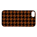 HOUNDSTOOTH1 BLACK MARBLE & RUSTED METAL Apple iPhone 5S/ SE Hardshell Case View1