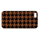 HOUNDSTOOTH1 BLACK MARBLE & RUSTED METAL iPhone 5S/ SE Premium Hardshell Case View1