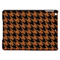 HOUNDSTOOTH1 BLACK MARBLE & RUSTED METAL iPad Air Hardshell Cases View1