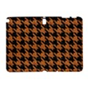 HOUNDSTOOTH1 BLACK MARBLE & RUSTED METAL Galaxy Note 1 View1