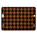 HOUNDSTOOTH1 BLACK MARBLE & RUSTED METAL Amazon Kindle Fire HD (2013) Hardshell Case View1