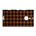 HOUNDSTOOTH1 BLACK MARBLE & RUSTED METAL Nokia Lumia 1520 View1