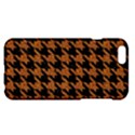 HOUNDSTOOTH1 BLACK MARBLE & RUSTED METAL Apple iPhone 6 Plus/6S Plus Hardshell Case View1