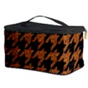 HOUNDSTOOTH1 BLACK MARBLE & RUSTED METAL Cosmetic Storage Case View3