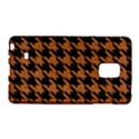 HOUNDSTOOTH1 BLACK MARBLE & RUSTED METAL Galaxy Note Edge View1
