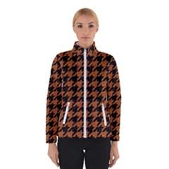 Houndstooth1 Black Marble & Rusted Metal Winterwear