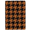 HOUNDSTOOTH1 BLACK MARBLE & RUSTED METAL Apple iPad Pro 9.7   Flip Case View1