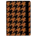HOUNDSTOOTH1 BLACK MARBLE & RUSTED METAL Apple iPad Pro 9.7   Flip Case View2