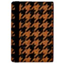 HOUNDSTOOTH1 BLACK MARBLE & RUSTED METAL Apple iPad Pro 9.7   Flip Case View4