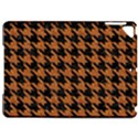 HOUNDSTOOTH1 BLACK MARBLE & RUSTED METAL Apple iPad Pro 9.7   Hardshell Case View1