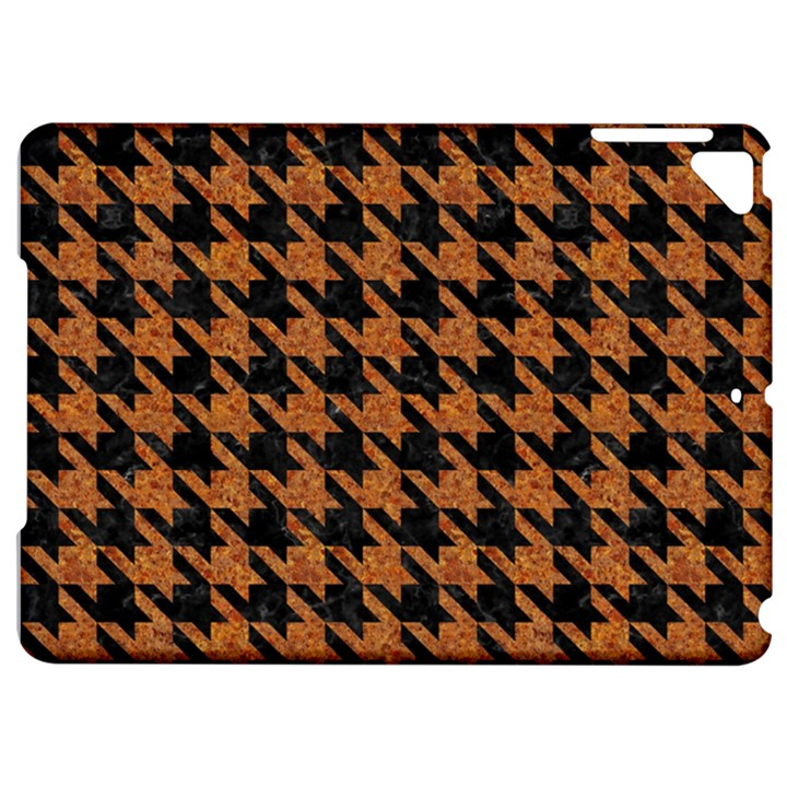 HOUNDSTOOTH1 BLACK MARBLE & RUSTED METAL Apple iPad Pro 9.7   Hardshell Case