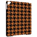HOUNDSTOOTH1 BLACK MARBLE & RUSTED METAL Apple iPad Pro 9.7   Hardshell Case View2