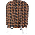 HOUNDSTOOTH1 BLACK MARBLE & RUSTED METAL Full Print Backpack View2