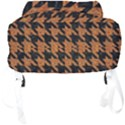 HOUNDSTOOTH1 BLACK MARBLE & RUSTED METAL Full Print Backpack View4