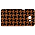 HOUNDSTOOTH1 BLACK MARBLE & RUSTED METAL Samsung C9 Pro Hardshell Case  View1