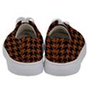 HOUNDSTOOTH1 BLACK MARBLE & RUSTED METAL Kids  Low Top Canvas Sneakers View4