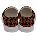 HOUNDSTOOTH1 BLACK MARBLE & RUSTED METAL Men s Canvas Slip Ons View4