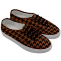 HOUNDSTOOTH1 BLACK MARBLE & RUSTED METAL Men s Classic Low Top Sneakers View3