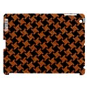 HOUNDSTOOTH2 BLACK MARBLE & RUSTED METAL Apple iPad 3/4 Hardshell Case (Compatible with Smart Cover) View1