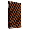 HOUNDSTOOTH2 BLACK MARBLE & RUSTED METAL Apple iPad 3/4 Hardshell Case (Compatible with Smart Cover) View2