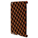 HOUNDSTOOTH2 BLACK MARBLE & RUSTED METAL Apple iPad 3/4 Hardshell Case (Compatible with Smart Cover) View3
