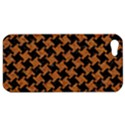 HOUNDSTOOTH2 BLACK MARBLE & RUSTED METAL Apple iPhone 5 Hardshell Case View1