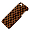 HOUNDSTOOTH2 BLACK MARBLE & RUSTED METAL Apple iPhone 5 Hardshell Case View4