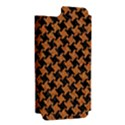 HOUNDSTOOTH2 BLACK MARBLE & RUSTED METAL Apple iPhone 5 Hardshell Case (PC+Silicone) View2