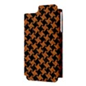 HOUNDSTOOTH2 BLACK MARBLE & RUSTED METAL Apple iPhone 5 Hardshell Case (PC+Silicone) View3