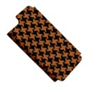 HOUNDSTOOTH2 BLACK MARBLE & RUSTED METAL Apple iPhone 5 Hardshell Case (PC+Silicone) View5