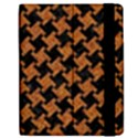 HOUNDSTOOTH2 BLACK MARBLE & RUSTED METAL Apple iPad Mini Flip Case View2