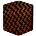 HOUNDSTOOTH2 BLACK MARBLE & RUSTED METAL Apple iPad Mini Flip Case View4