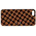 HOUNDSTOOTH2 BLACK MARBLE & RUSTED METAL Apple iPhone 5 Hardshell Case with Stand View1