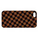 HOUNDSTOOTH2 BLACK MARBLE & RUSTED METAL Apple iPhone 5 Premium Hardshell Case View1