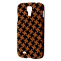 HOUNDSTOOTH2 BLACK MARBLE & RUSTED METAL Samsung Galaxy S4 I9500/I9505 Hardshell Case View3