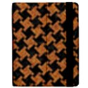 HOUNDSTOOTH2 BLACK MARBLE & RUSTED METAL Samsung Galaxy Tab 7  P1000 Flip Case View2