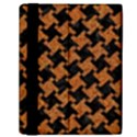 HOUNDSTOOTH2 BLACK MARBLE & RUSTED METAL Samsung Galaxy Tab 10.1  P7500 Flip Case View2