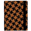 HOUNDSTOOTH2 BLACK MARBLE & RUSTED METAL Samsung Galaxy Tab 10.1  P7500 Flip Case View3