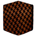 HOUNDSTOOTH2 BLACK MARBLE & RUSTED METAL Samsung Galaxy Tab 10.1  P7500 Flip Case View4