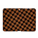 HOUNDSTOOTH2 BLACK MARBLE & RUSTED METAL Samsung Galaxy Tab 2 (10.1 ) P5100 Hardshell Case  View1
