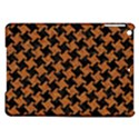 HOUNDSTOOTH2 BLACK MARBLE & RUSTED METAL iPad Air Hardshell Cases View1