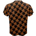 HOUNDSTOOTH2 BLACK MARBLE & RUSTED METAL Men s Cotton Tee View2
