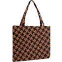 HOUNDSTOOTH2 BLACK MARBLE & RUSTED METAL Mini Tote Bag View2