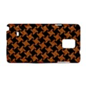 HOUNDSTOOTH2 BLACK MARBLE & RUSTED METAL Samsung Galaxy Note 4 Hardshell Case View1