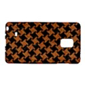 HOUNDSTOOTH2 BLACK MARBLE & RUSTED METAL Galaxy Note Edge View1